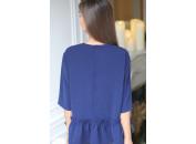 Amandine robe bleu