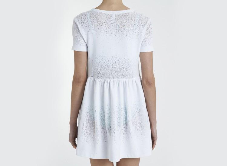 robe de plage blanche antigone. Black Bedroom Furniture Sets. Home Design Ideas