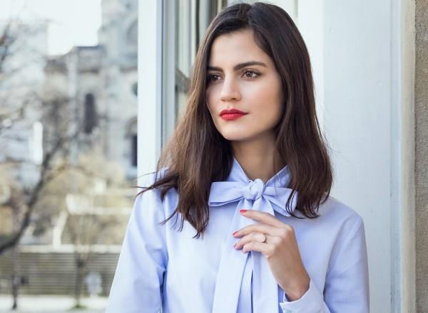 Alexane Chemise Bleu