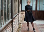 Amicie jupe noir