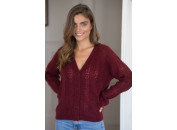 Pull Edgar bordeaux