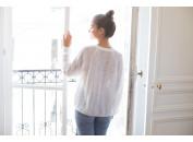 Edgar white sweater