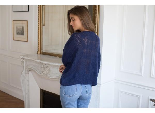 Edmond blue navy sweater