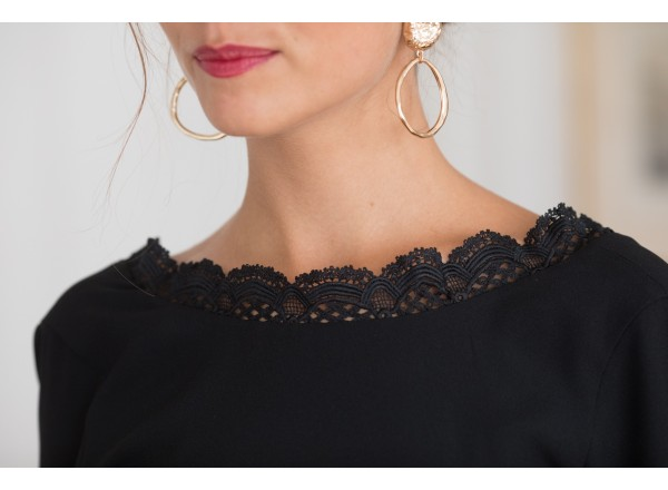 Diva Black Dress