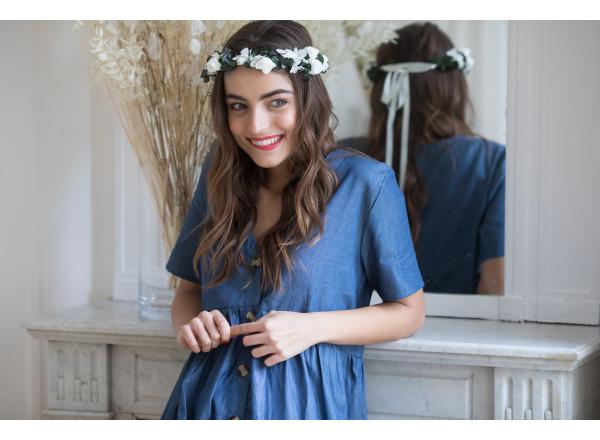 Robe Dorothée en jean