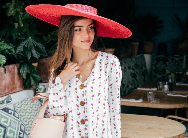 Robe Estelle imprimé mexicana