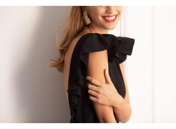 Robe Eugenie noir