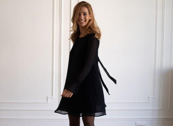 Emilie black dress