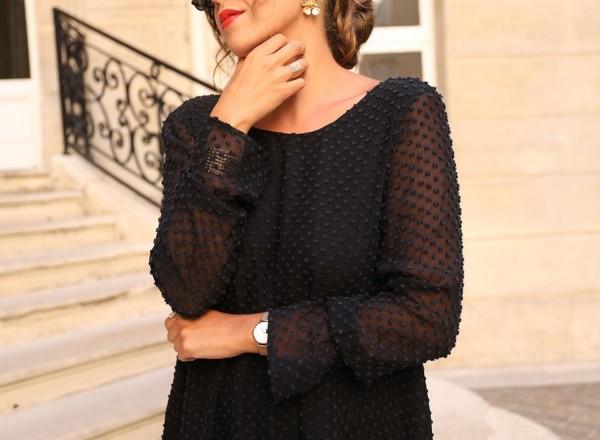 Robe noire Emilie