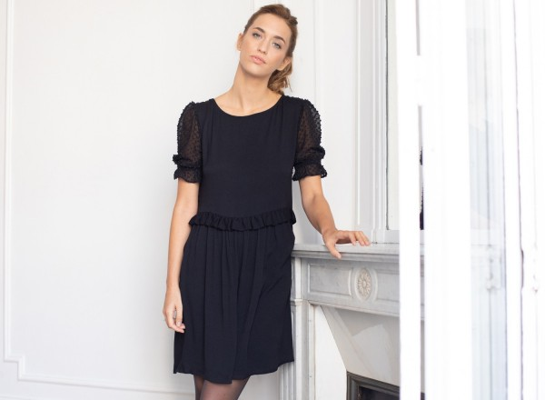 Ernestine black dress