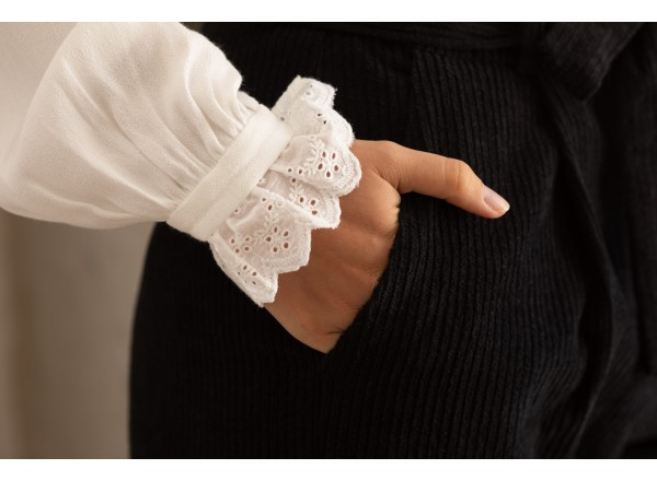 White blouse Daphnée