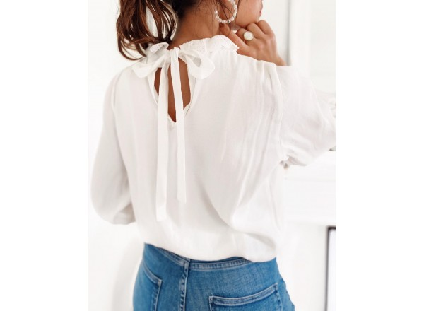 Blouse Lily blanche