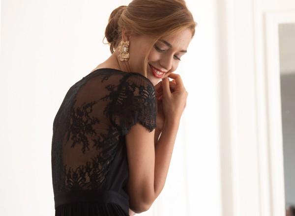 Eva black dress