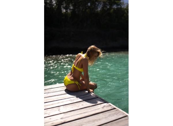 Bas de maillot de bain françoise jaune
