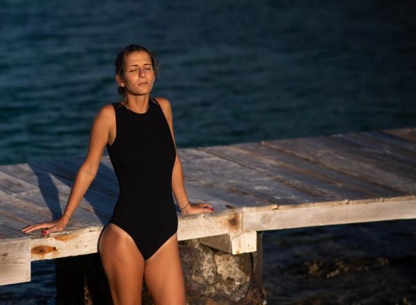 Swimsuit black Cassandre