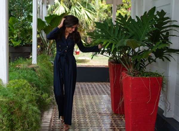Black jumpsuit Dolly