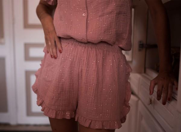 Pyjama rose Olga