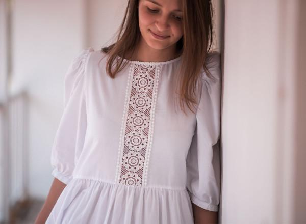 Robe Paulette blanche