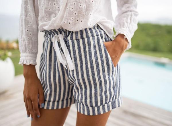 Striped Jimmy shorts