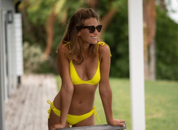 Yellow françoise top