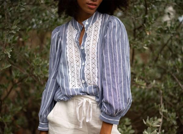 Striped Hermine shirt