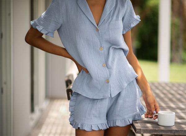 Pyjama bleu Olga