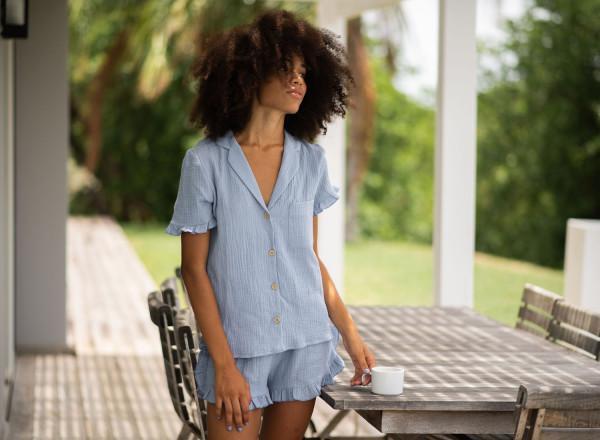 Blue Olga pajamas