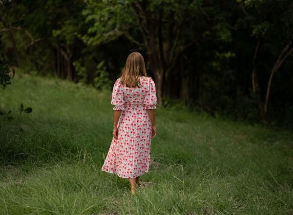 Robe Hélène imprimé fleurs