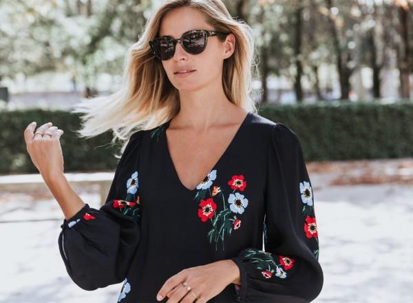 robe à fleurs Emilia