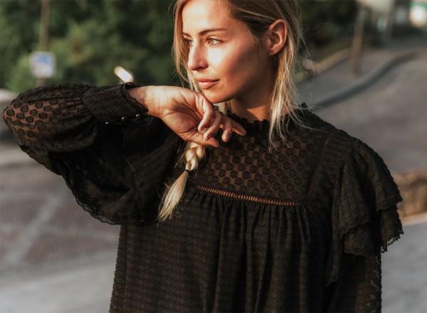 Robe noire Louise