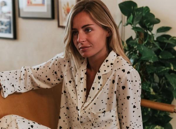 Olga hearts pajamas