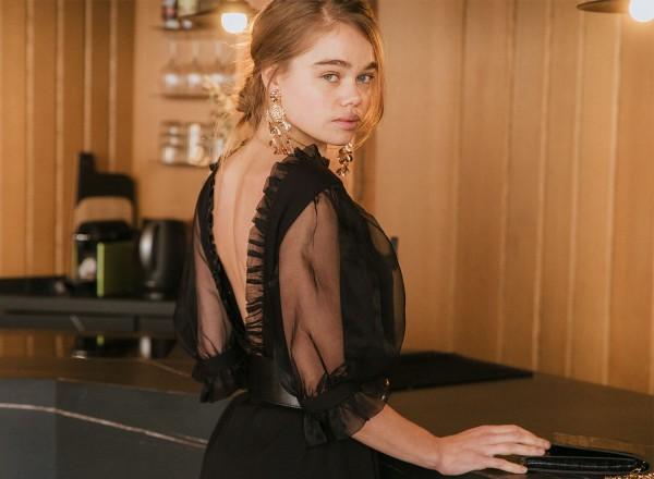 Robe Hortense Noire