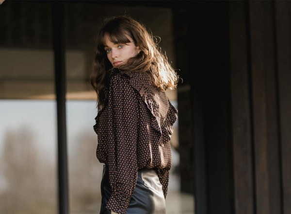 Emeline printed blouse