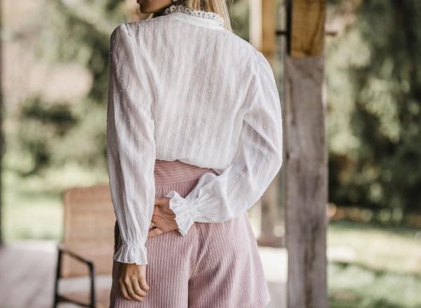 Emy leche blouse